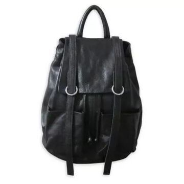 Amerileather Chief Backpack in Black