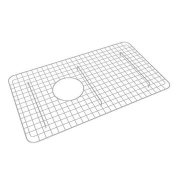 Rohl 26.25-in x 15.25-in Stainless Steel Sink Grid