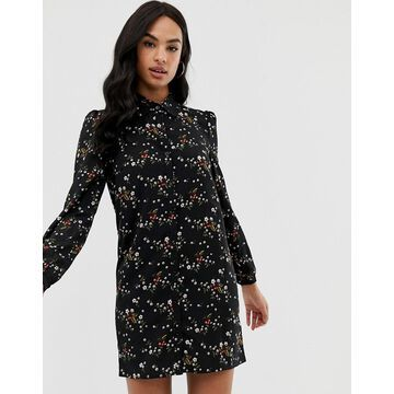 Fashion Union shirt dress in floral