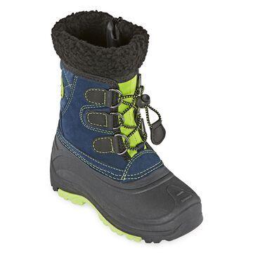 Totes Jackson Waterproof Insulated Zip Little Kid/Big Kid Boys Winter Boots