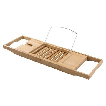 interDesign natural Wood/Bamboo Bathtub Caddy   86300