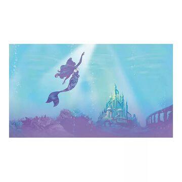 Disney Princess Ariel Under the Sea Peel & Stick Wallpaper Mural by RoomMates, Multicolor