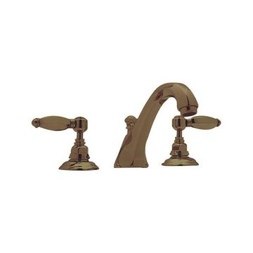 Rohl Tub Filler Faucet in Tuscan Brass