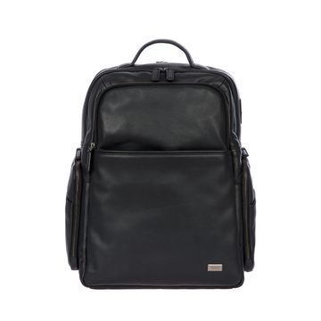 Torino Men's Large Leather Business Backpack