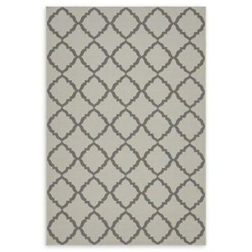 Unique Loom Trellis 6' x 9' Indoor/Outdoor Area Rug in Grey