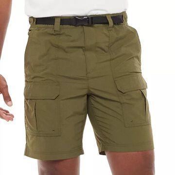 Big & Tall Croft & Barrow Outdoor Ripstop Cargo Shorts, Men's, Size: 50, Dark Green