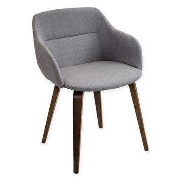 LumiSource Campania Chair in Grey