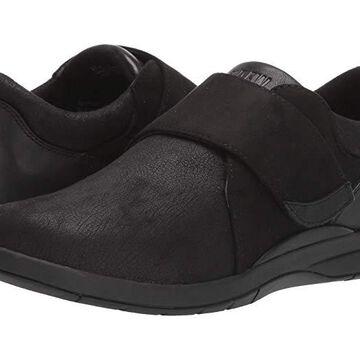 Drew Moonwalk (Black Stretch/Leather) Women's Shoes