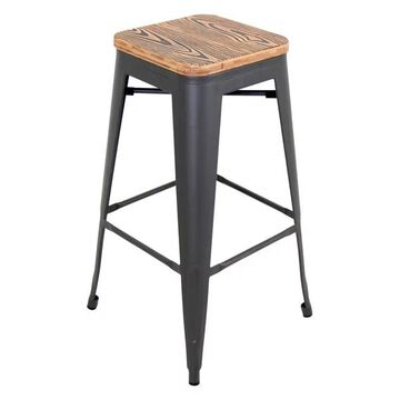 Lumisource Oregon Barstool, Set of 2