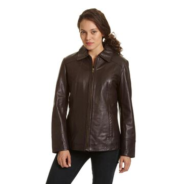 Women's Excelled Leather Scuba Jacket