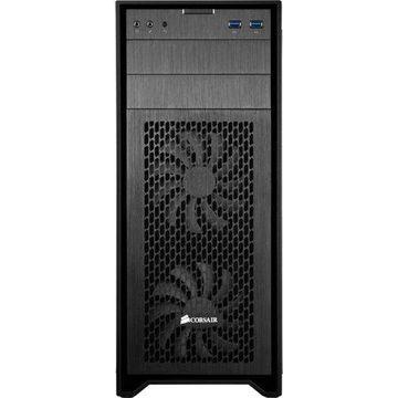 Corsair Obsidian Series 450D ATX Mid-Tower PC Case, Black Brushed Aluminum