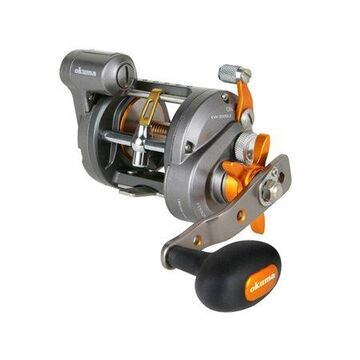Okuma Cold Water Star Drag Line Counter 4.2:1 Conventional Fishing Reel, Left Hand - CW-303DLX