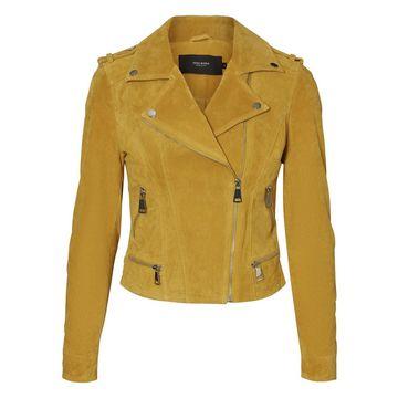 **Vero Moda Yellow Suede Jacket