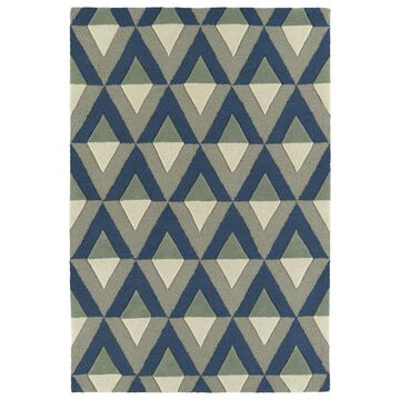 Kaleen Spaces 5 x 7 Light Brown Geometric Mid-Century Modern Handcrafted Area Rug Cotton | SPA06-17-57