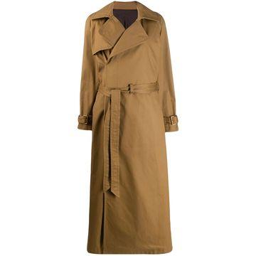 Matrix oversized trench coat