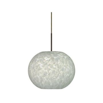 Besa Lighting 1JT-477619 Luna 1 Light Cord-Hung Pendant