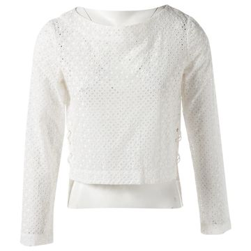 Altuzarra Ecru Cotton Tops