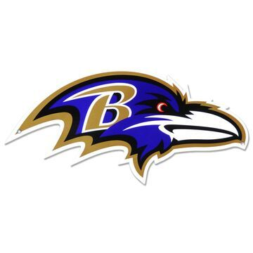 Authentic Street Signs Baltimore Ravens Steel Logo Sign