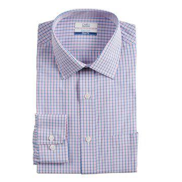Men's Croft & Barrow Slim-Fit Easy-Care Spread-Collar Dress Shirt