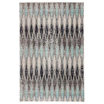 Jaipur Norwich Indoor/Outdoor Area Rug - Color: Grey - Size: 8 ft 10