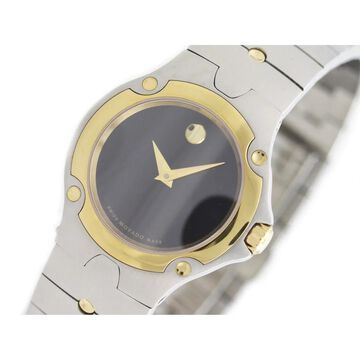 Movado Women's 0604485 'Casual' Two-Tone Stainless Steel Watch
