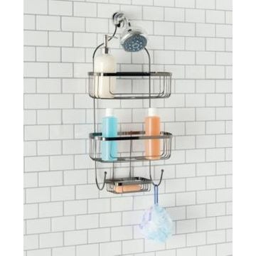 Home Basics Large Shower Caddy Bedding