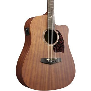 Performance Series PF12MHCEOPN Mahogany Dreadnought Acoustic-Electric Guitar Satin Natural