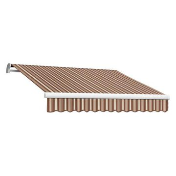 16' Maui-Lx Manual Retractable Awning, Brown/Terra
