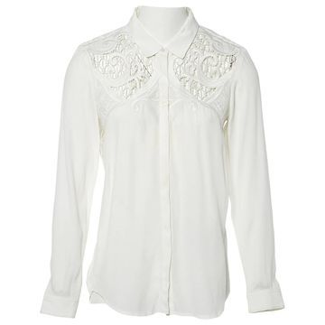 The Kooples White Viscose Tops