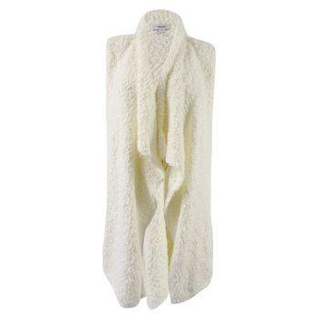 Kensie Women's Bobble Fur Vest