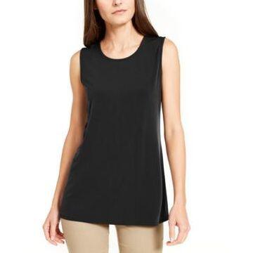 Alfani Scoop-Neck Sleeveless Top, Created for Macy's