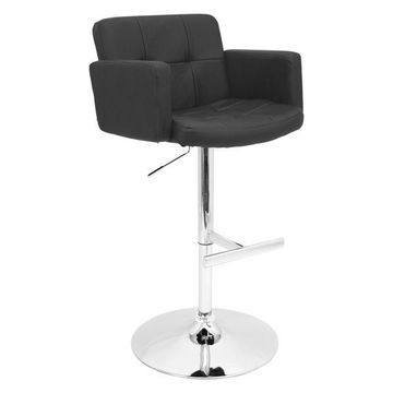 Lumisource Stout Barstool, Black