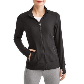 Women's Active RBX Yoga Mock Neck Zip Jacket