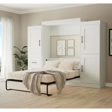 Edge by Bestar Full Wall Bed with two 25