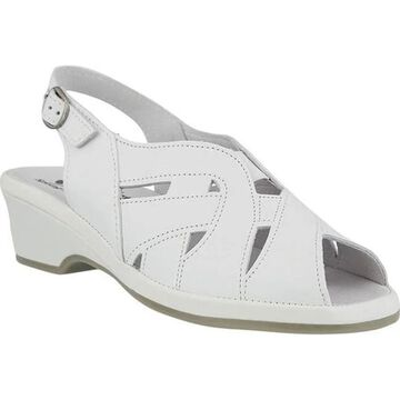Spring Step Women's Marina White Leather