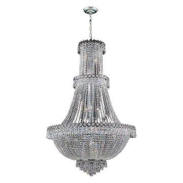 Worldwide Lighting W83047C30 Empire 17-Light 1-Tier 30