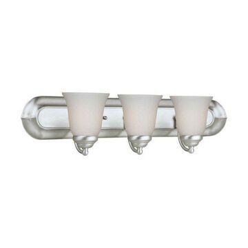 Forte Lighting 5052-03 3 Light Bathroom Fixture