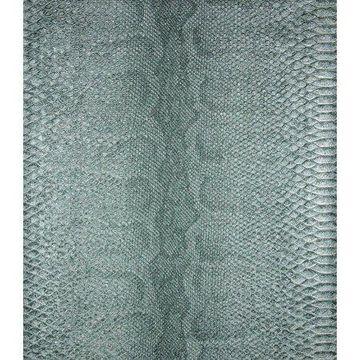 Brewster Sovana Teal Python Wallpaper