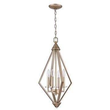 Acclaim Lighting Easton 4-Light Chandelier - Gold (Gold)