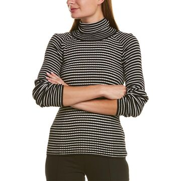 Piazza Sempione Turtleneck Wool-Blend Sweater