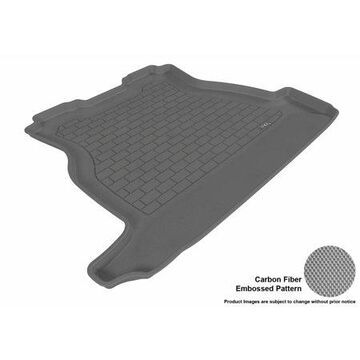 3D MAXpider 2005-2009 Buick LaCrosse All Weather Cargo Liner in Gray with Carbon Fiber Look
