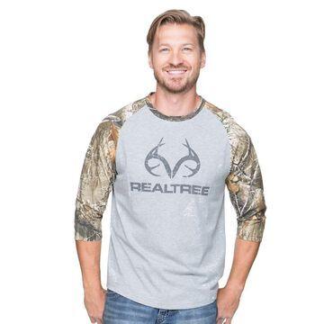 Men's Realtree Camouflage Logo Tee