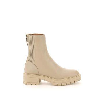 Aquazzura saint honore leather ankle boots