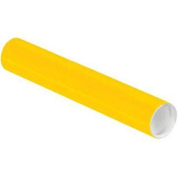 2 x 18 Mailing Tubes - Sunflower (100 Qty.)