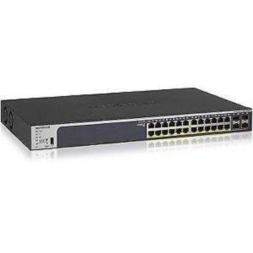 NETGEAR ProSafe GS728TPPv2 24-Port Rack-Mount Gigabit PoE+ Smart Ethernet Switch