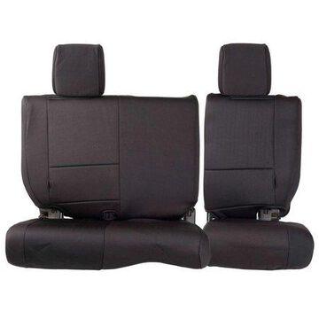 Smittybilt Neoprene Front and Rear Seat Cover Kit (Black) - 471601