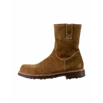 Suede Boots Brown