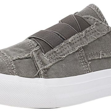Blowfish Women's Marley Ankle-High Canvas Slip-On Shoes