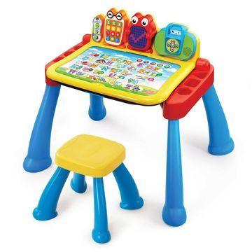 New VTech Touch and Learn Activity Desk Deluxe (Frustration Free Packaging)