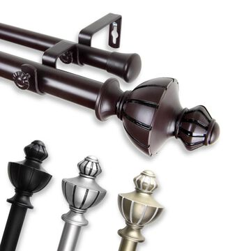 InStyleDesign Oden Adjustable Double Curtain Rod